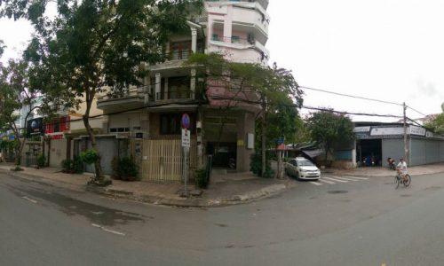 Bán nhà phố góc 2 mặt tiền( khách sạn 15 phòng) khu Trung Sơn, Bình Chánh